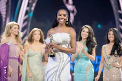 Miss England - Mejor en Traje de Noche