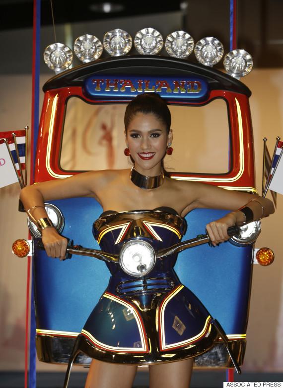 Thailand Tuk Tuk Dress