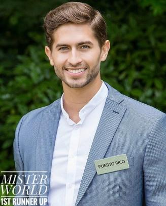 Fernando Álavarez - Mr Mundo PR 2016